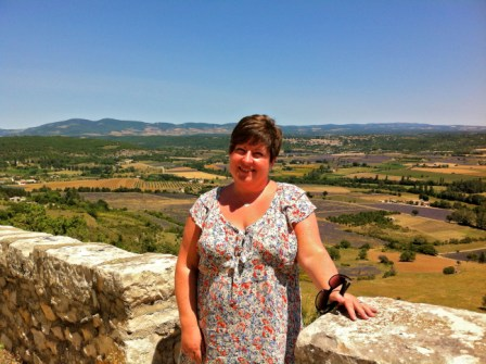 Bethan from Wales in the Luberon.