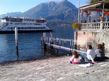 GPS got us to Bellagio on Lake Como, but failed us thereafter.