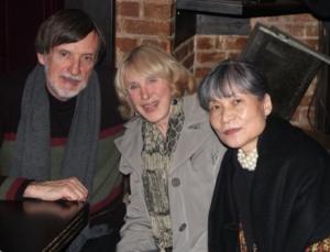 Bob, me and Sachie