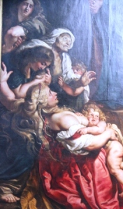 Masterpieces by Rubens abound in Antwerp.