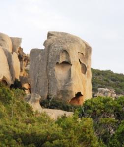 Natural rock.