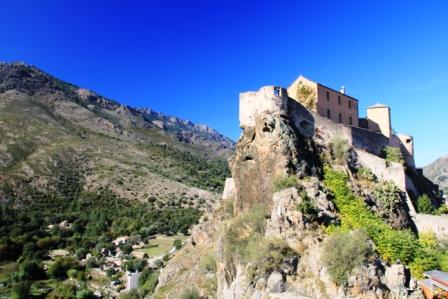 Corte's citadel