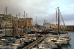 Bastia before the rain