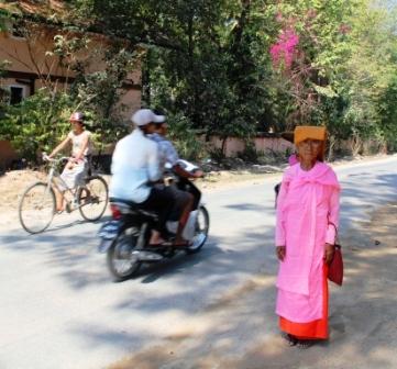 Nuns wear pink.