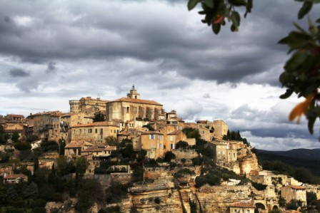 Hilltop Gordes -- the quintessential Provence perched village.