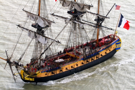 Photo by Francis Latreille - Association Hermione La Fayette.