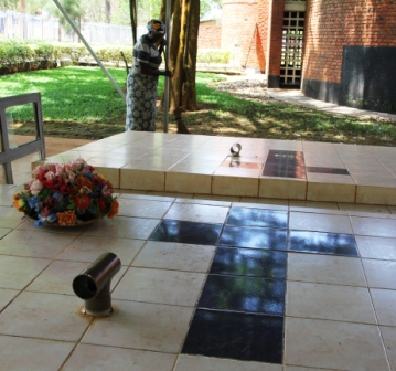 Mass grave at Nyamata