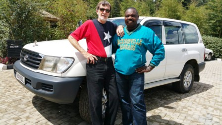Rwanda has 728 different birds -- a passion with David who seemed to know all of them.