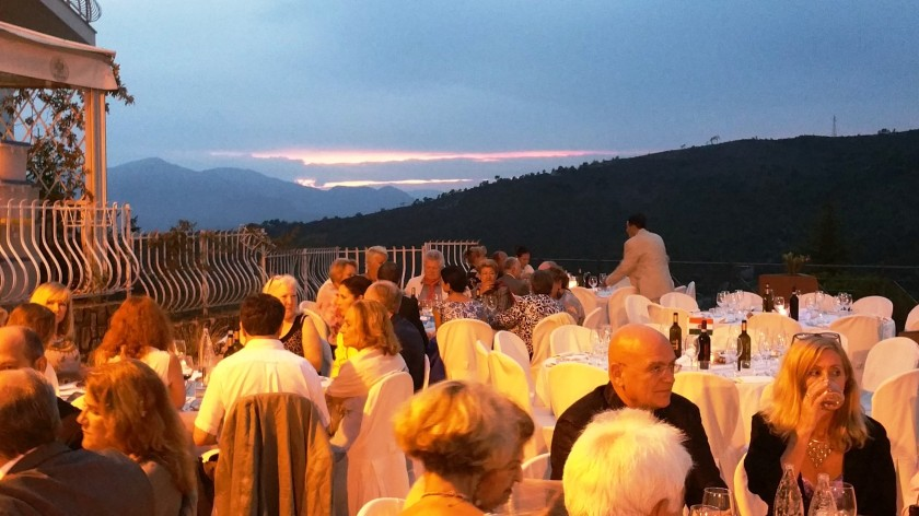 A gala dinner to commemorate Seborga's national festival.