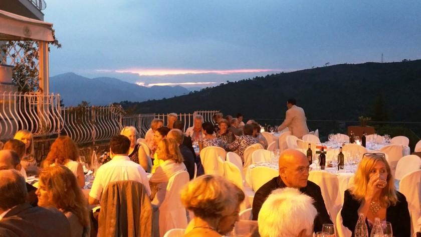 A gala dinner to commemorate Seborga's national festival.